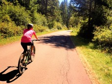 As many MTB rides often do, this one started on pavement.