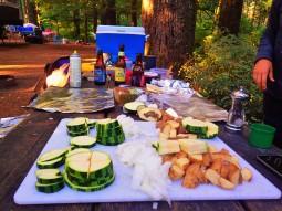 The start of hobo dinners.