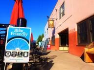 Also a bike friendly establishment.