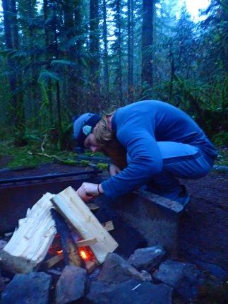 Firemaster hard at work.