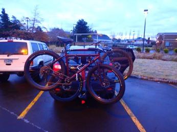 The new Crosstrek all loaded up.