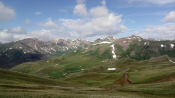 Although it was not a good day for riding, the views were the most impressive of the entire trip.