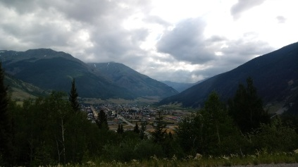 The town of Silverton.