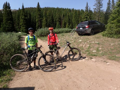 Wednesday was a rest day for the trail crew, so Andy and I headed out on the trail.