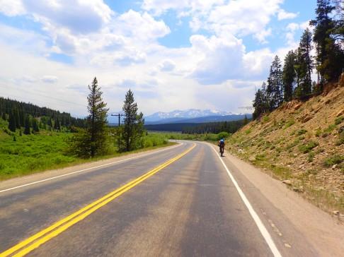 The beginning of the Leadville Detour.
