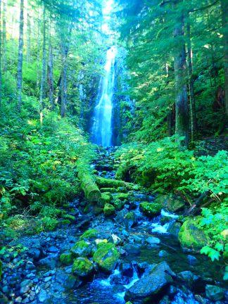 Hidden Falls.