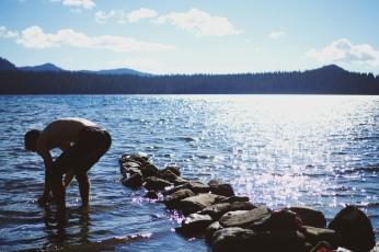 Waldo Lake.