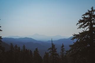 The top of Scar Mountain.